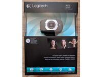 Brand New Logitech HD Webcam C615 Full HD recording and 720p Skype