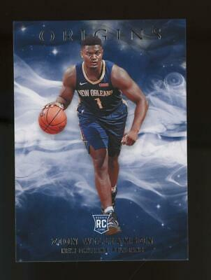 2019 Panini Origins #15 Zion Williamson RC Rookie
