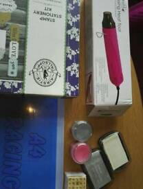 Stamps and embossing