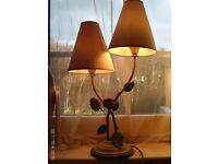 flower table lamp 60x38cm