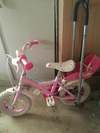 Cupcake bike and balance buddy