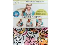 itzy ritzy BREASTFEEDING SCARF - watercolour bloom - CRISBIE AWARD WINNER - discreet - BRAND NEW