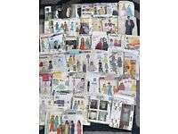 JOB LOT OF 40 SEWING PATTERNS, VINTAGE (FROM 1950's) & MODERN DAY (lot 4)