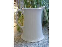 white serving jug 18 x 16 cm