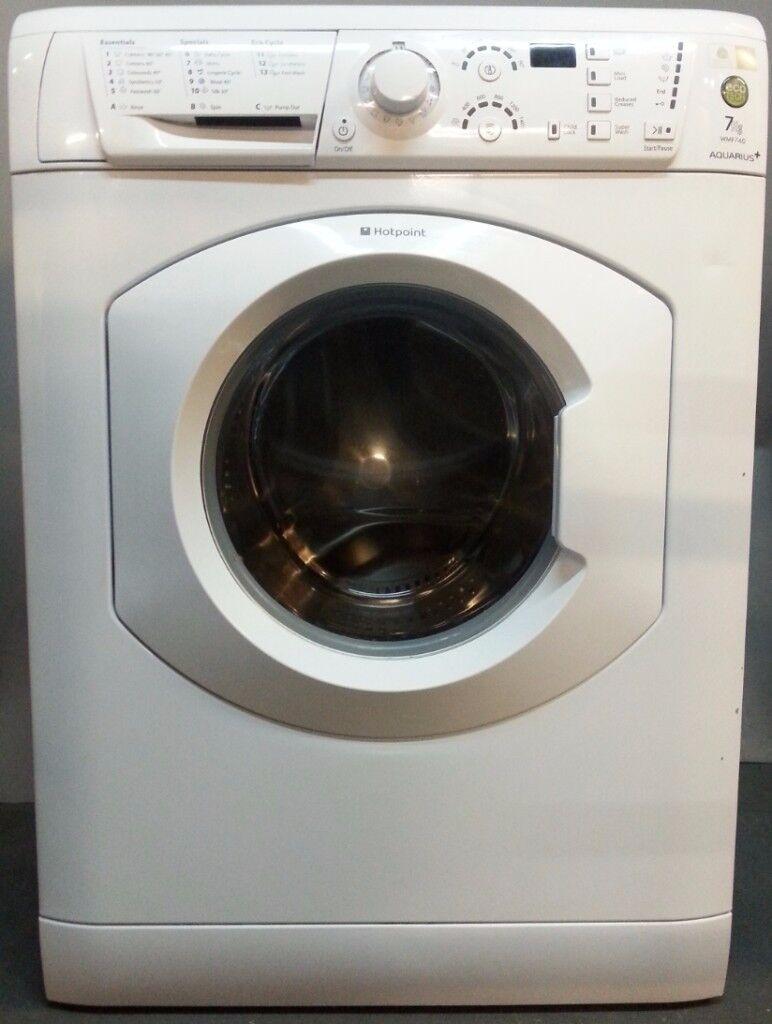 Hotpoint Washing Machine WMF740/FS20247 ,3 months warranty, delivery available in Devon/Cornwall
