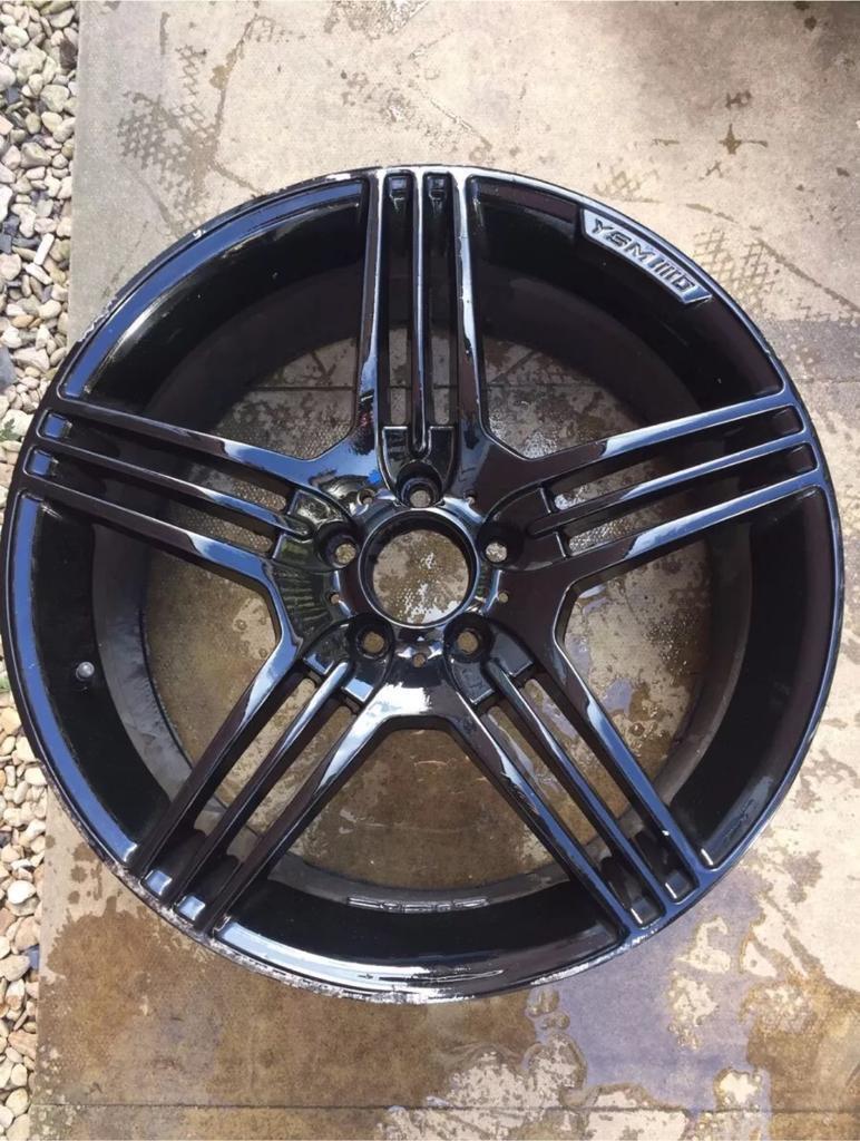 """X1 19"""" Mercedes AMG Style Alloy Wheel: 5x112"""
