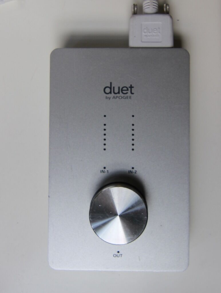 Apogee Duet Firewire with Thunderbolt converter cable 24 Bit 96k ...