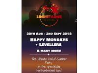 2 x Lindesfarne Festival Weekend Tickets