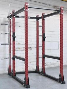 Mint condition IRON BULL 550 Commercial Ful rack Sold Original to the customer for $1995 + Tax to Privet upscale residen