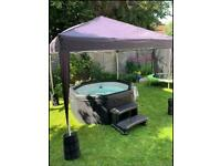 Bespoke bubbles hot tub hire and outdoor cinema