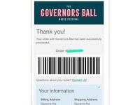Govoners ball tickets & ferry pass!!