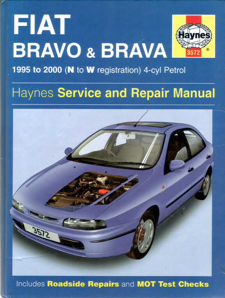 haynes fiat bravo brava service and repair manual 1995 to 2000 rh gumtree  com fiat marea workshop manual fiat bravo maintenance manual