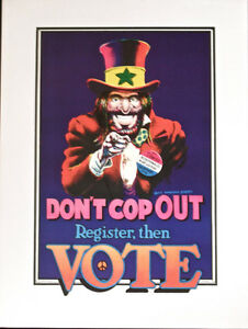 DONT-COP-OUT-Register-then-VOTE-Poster-Dave-Sheridan-1972