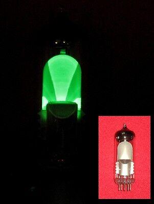 Röhre 6E1P = EM80 (6BR5) Test NEU mag. Fächer Tube NEW Valve Valvula Magic Eye