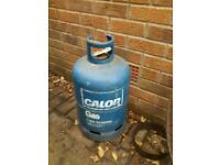 Empty calor gas bottle .