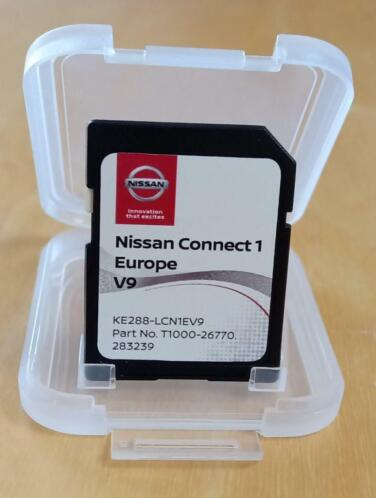 Originele Nissan connect 1 V9 Europa sd kaart