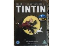 New sealed TinTin cartoon complete DVD series