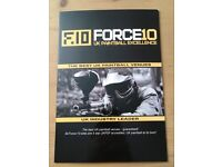 Force 10 UK VIP Paintball Tickets For 8 -100 Free Paintballls Each & free lunch