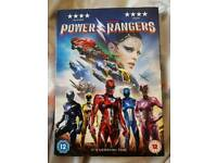 Power Rangers 2017 Film DVD