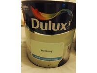 Unopened dulux wellbeing paint for sale