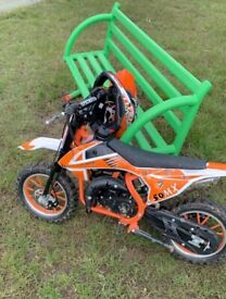Kids 50cc bike like new