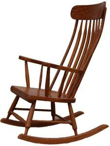 Mennonites Handcrafted Solid Wood Boston Rocking Chairs