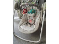 Baby swing, immaculate condition, comfort harmony