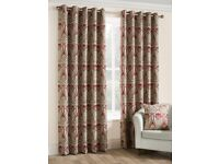 BRAND NEW GORGEOUS BELFIELD FURNISHINGS LUXURY CURTAINS STILL PACKED 44 X 72