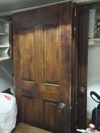 Five internal doors for sale