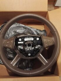 ***REDUCED***Mercedes Benz ML 164 Leather Steering Wheel with tiptronic, phone, audio controls