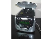 Roberts CD Cube Player Clock Radio LW/MW/FM Headphone socket