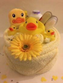Bath Time Nappy Cake