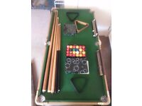 Small pool/snooker table BCE TABLE SPORT LE CLUB - BOUGHT FROM JOHN LEWIS