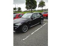 Black BMW X1 2011 / 2012, Low Milage Full BMW Service History extended warranty 2ltr 190BHP