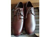 French Connection Men Leather shoes, Burgundy colour, brand new size 8 (42)