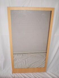 Large mirror, size 94cm x 51cm