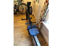 Concept 2 rowing machine PM5 monitor