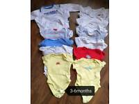 Baby boy vests