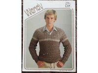 knitting patterns 80p each