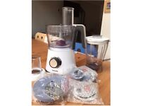 Philips 7761/01 Viva Processor with Blender, mini chopper and several discs to slice, shred etc