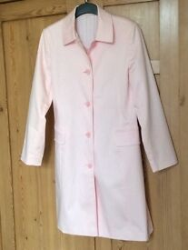 Lovely Pale Pink Coat from NEXT - Size14 - Never Worn