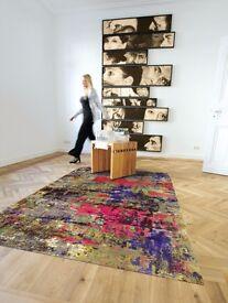 "Action Art Rugs 5207 39 by Arte Espina Designer Rug 140x200cm (6'8"" x 4'8"")RRP £277.00"