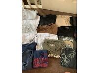 Large bundle of men's T-shirt's