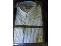Ralph Lauren Fitted Non iron shirt,Ocean colour, brand new with tags, size 15