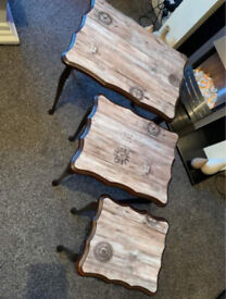 Nest of Tables - Solid Wood