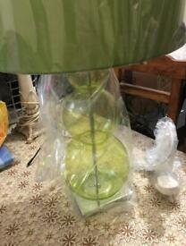 Next Lime Green Bubble Table Lamp new