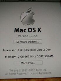 iMac 1.83 Ghz, 2G RAM Excellent Condition