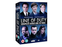 Line Of Duty Series 1-3 : 6 DVD BOX SET : Adrian Dunbar – Compelling Viewing