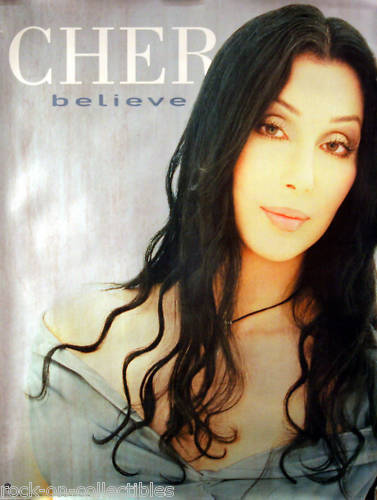 Cher 1998 Believe Original Small Promo Poster