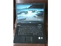 HP Compaq nx7300 15.4'' Laptop Widescreen DVD-RW Windows 10 Wifi Bluetooth Cheap